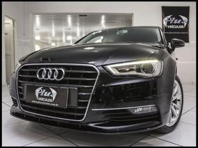 Audi A3 Sedan 1.8 Ambition Top 2014 Preto Gasolina