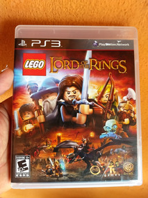 Lego Ps3 Lord Rings Original Midia Fisica Semi Novo