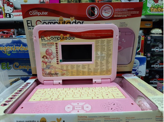 Computador Didáctico Infantil Rosado/niña