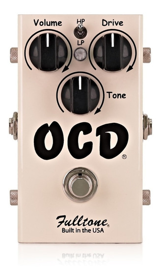 Pedal Overdrive/distortion Fulltone Ocd V2 Usa