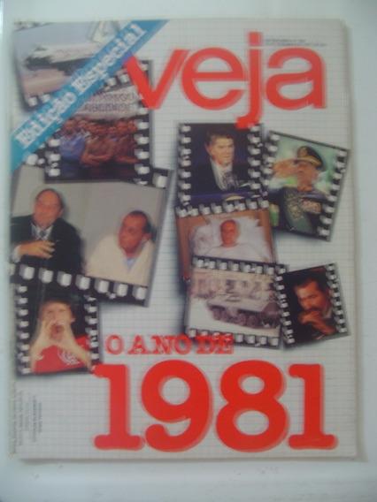 Revista Veja 695 Xuxa Zico Piquet Fischer Retrospectiva 1981