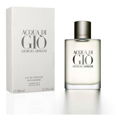 Perfume Original Acqua Di Gio De Giogio Armani Hombre 200ml