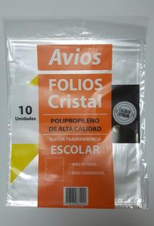Folio Para Carpeta N3 Pp Alta Calidad 10 U X 10 Paquetes