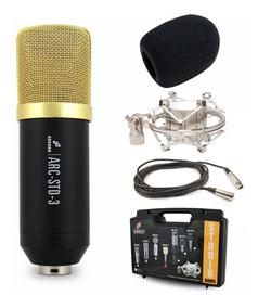 Arcano Microfone Para Estúdio Series Arc-std-3 Completo
