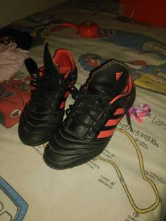 Tenis adidas P/futbol Soccer De Terreno