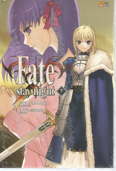 Fate Stay Night 07 - Panini - Bonellihq Cx237 D18