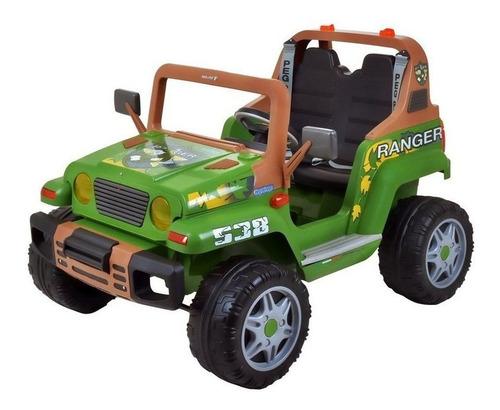 Mini Veículo Elétrico Ranger 538 Verde 12v - Peg-pérego