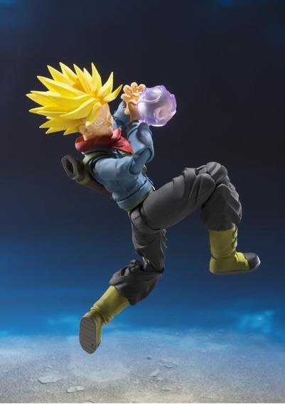 Future Trunks Dragon Ball Super S H Figuarts - Bandai