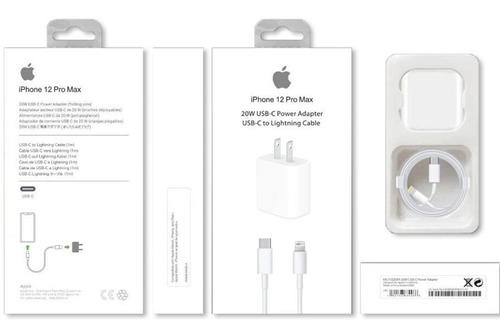 Imagen 1 de 7 de Kit Cargador De Pared + Cable Fast iPhone 11 Pro Max Cuotas