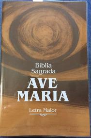 Bíblia Sagrada - Ave Maria - Letra Maior