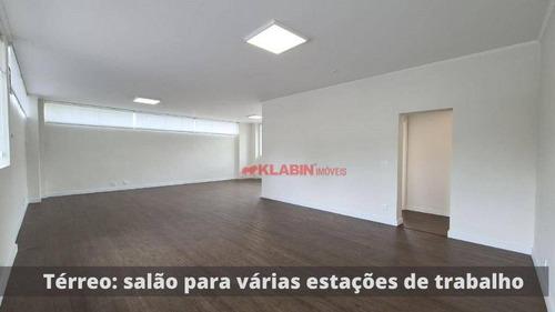 #=casa Comercial Com 5 Dormitórios, 592 M² - Venda Por R$ 6.500.000 Ou Aluguel Por R$ 25.000/mês - Pacaembu - São Paulo/sp - Ca0589