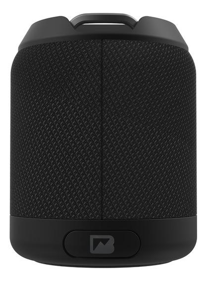 Bocina Portátil Brv-mini Waterproof Con Bluetooth Negro