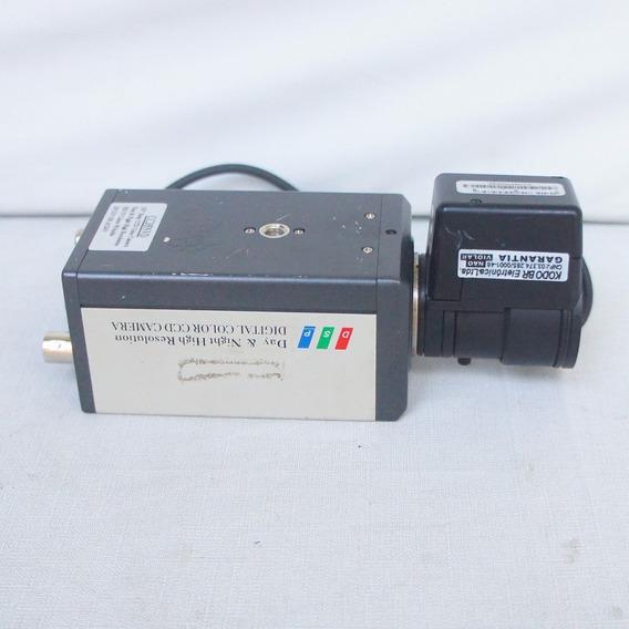 Cc35nvd - 520tvl Câmera Ir Sensível De Alta Resolução Cc35n