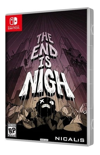 The End Is Nigh Mídia Física Lacrado - Nintendo Switch