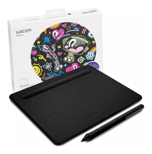 Tabla Digitalizadora Intuos S Wacom Ctl4100wlk0 Usbbluetooth