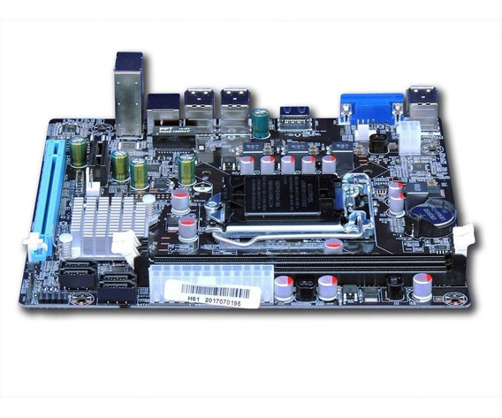 Placa Mãe Chipset Intel H61/b75 Ddr3 Lga1155 I3i5i7
