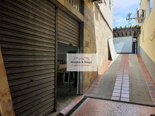 Imagem 1 de 6 de Salão Para Alugar, 160 M² Por R$ 2.200,00/mês - Ponte Grande - Guarulhos/sp - Sl0006