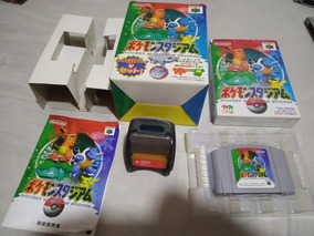 Pockemon Stadium 64 + Transfer Pack Completo Na Caixa