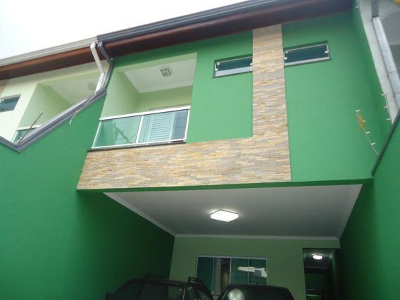 Sobrado 4 Dormitórios , 200 M² Jaçatuba Santo André Sp