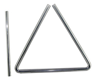 Triangulo Banda Rítmica 15 Cm Acero