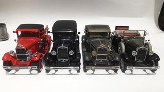 Lote De 3 Miniaturas 1:18 Ford Motor City Leia