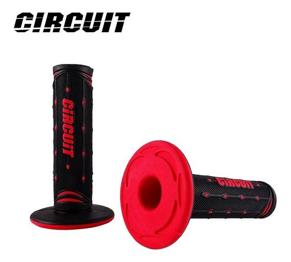 Manopla Circuit Jupiter Vermelho Tornado Bros Xre Lander
