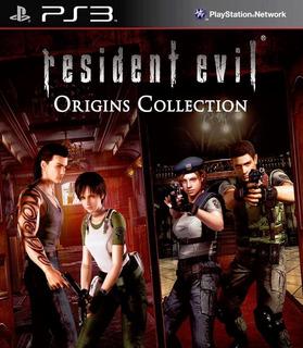 Resident Evil Hd + Resident Evil Zero Hd Ps3 Digital Gcp