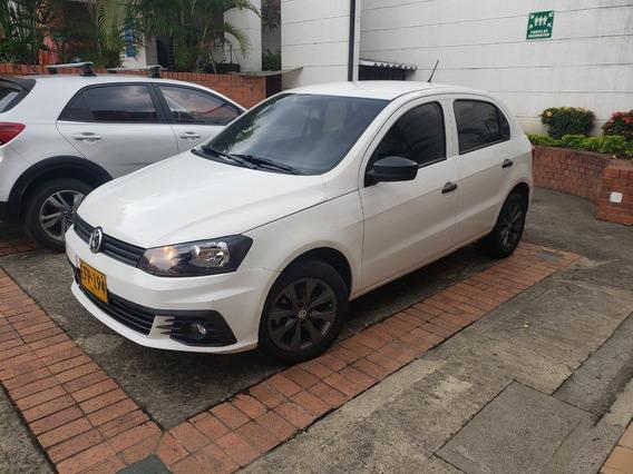 Volkswagen Gol Motor 1.6 2018 Blanco 5 Puertas