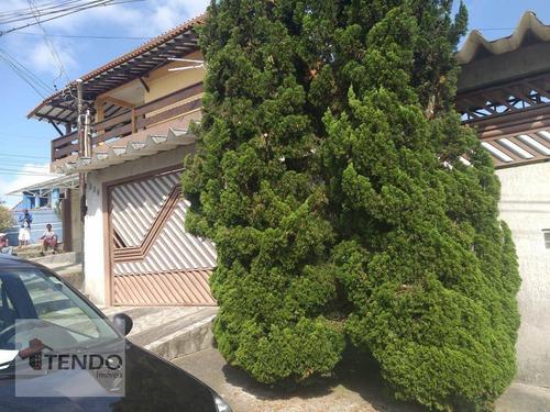 Imagem 1 de 15 de Imob03  - Casa Com 3 Dormitórios À Venda, 201 M² Por R$ 375.000 - Quarta Divisão - Ribeirão Pires/sp - Ca0775