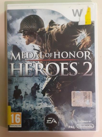 Jogo Medal Of Honor Heroes 2 Para Nintendo Wii Europeu
