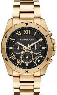 Relógio Michael Kors Masculino Brecken Mk8481 Dourado