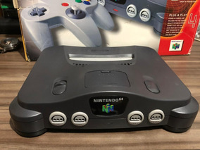 N64 Completo + Donkey Kong 64 Impecavel