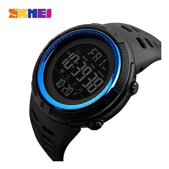 Relógio Masculino Skmei Digital Original Led Prova Agua 1251 Esportivo