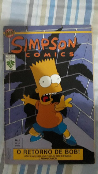 Revista Simpsons Comics Bart Simpson Krusty Rara Raridade