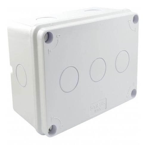 Caixa Plastica Organizador Camera Cftv 165x120x77 Stilus