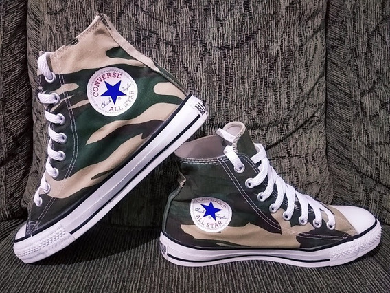 Converse All Star Camuflado Made In Usa Anos 80