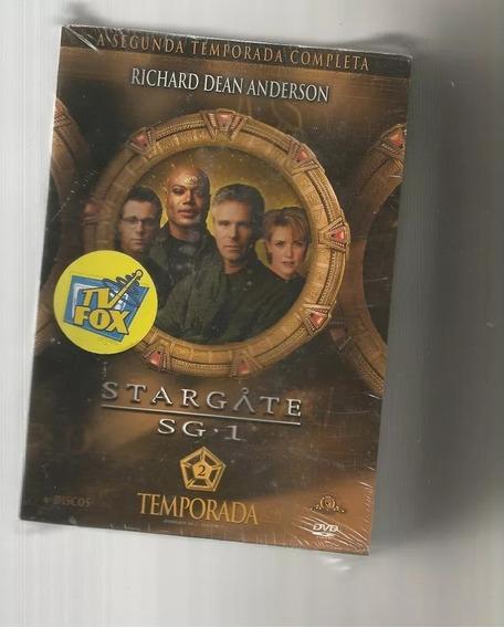 Stargate Sg-1 - 2 Temporada - 6 Dvds Lacrado
