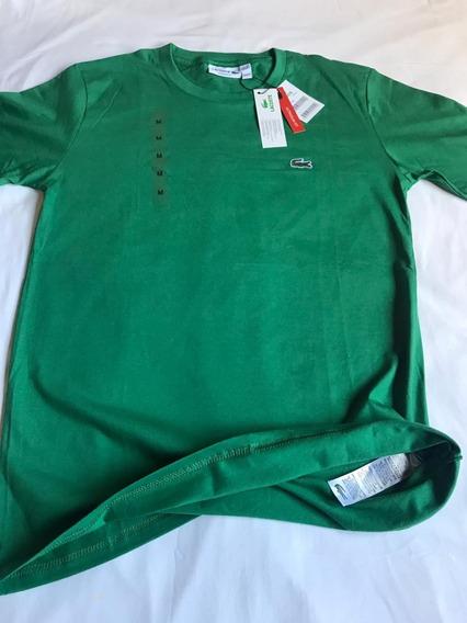 Camiseta Lacoste Original Basica Importada Tshirt Masculina