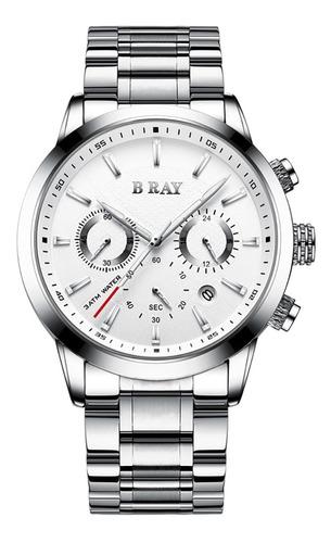 Reloj Hombre B Ray Cronografo Todo Funcional Reloj Original