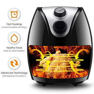 Costzon 1500w Electric Air Fryer Cooker With Rapid Air Circ