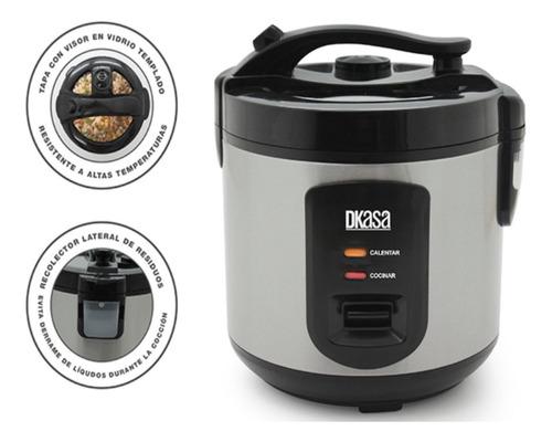 Olla Arrocera Premium Inox Cook 1.8 Libras Con Vaporizador