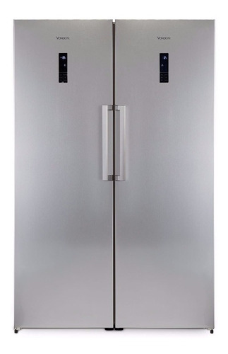 Heladera a gas no frost Vondom Combo Platinum platinum con freezer 627L 220V - 240V