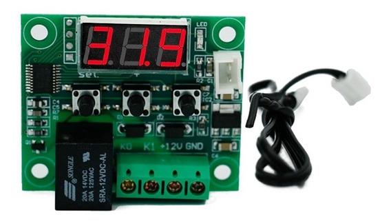 W1209 Dc12v Legal Digital De Temperatura Termômetro De Tempe