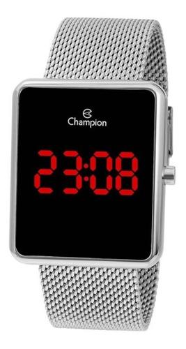 Relógio Champion Masculino Feminino Digital Quadrado Origina