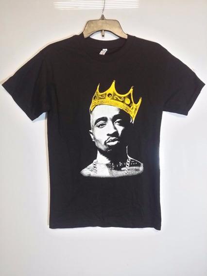 Playera King Tupac Thug Life 2pac Hip Hop Xl, M Serigrafia