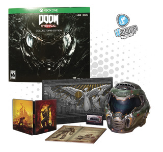 Doom Eternal Collectors Edition Xbox One Pc Ps4