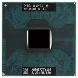 Intel Core 2 Duo T6600 2.20ghz/2m/800mhz Notebook