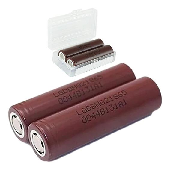 Bateria 3.7v Lg 3000mah Hg2 Imr 18650 Chocolate Vape Oferta