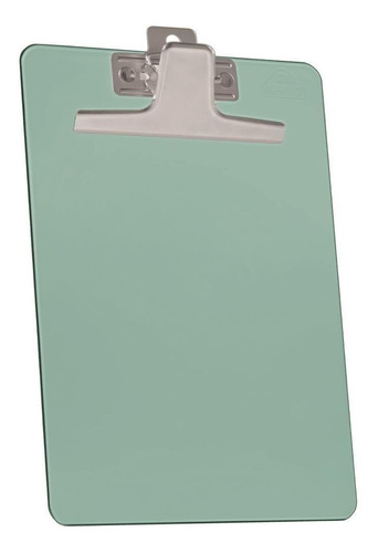 Imagem 1 de 1 de Prancheta Acrimet 920.4 Premium Prend Metal Pequ Verde