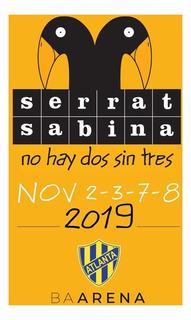 Entradas Sabina Serrat Nov 2019 Ba Arena Platino G/h